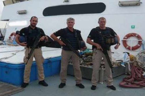 Private ship protection teams